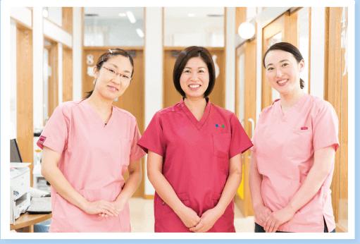 3名の女性ドクター